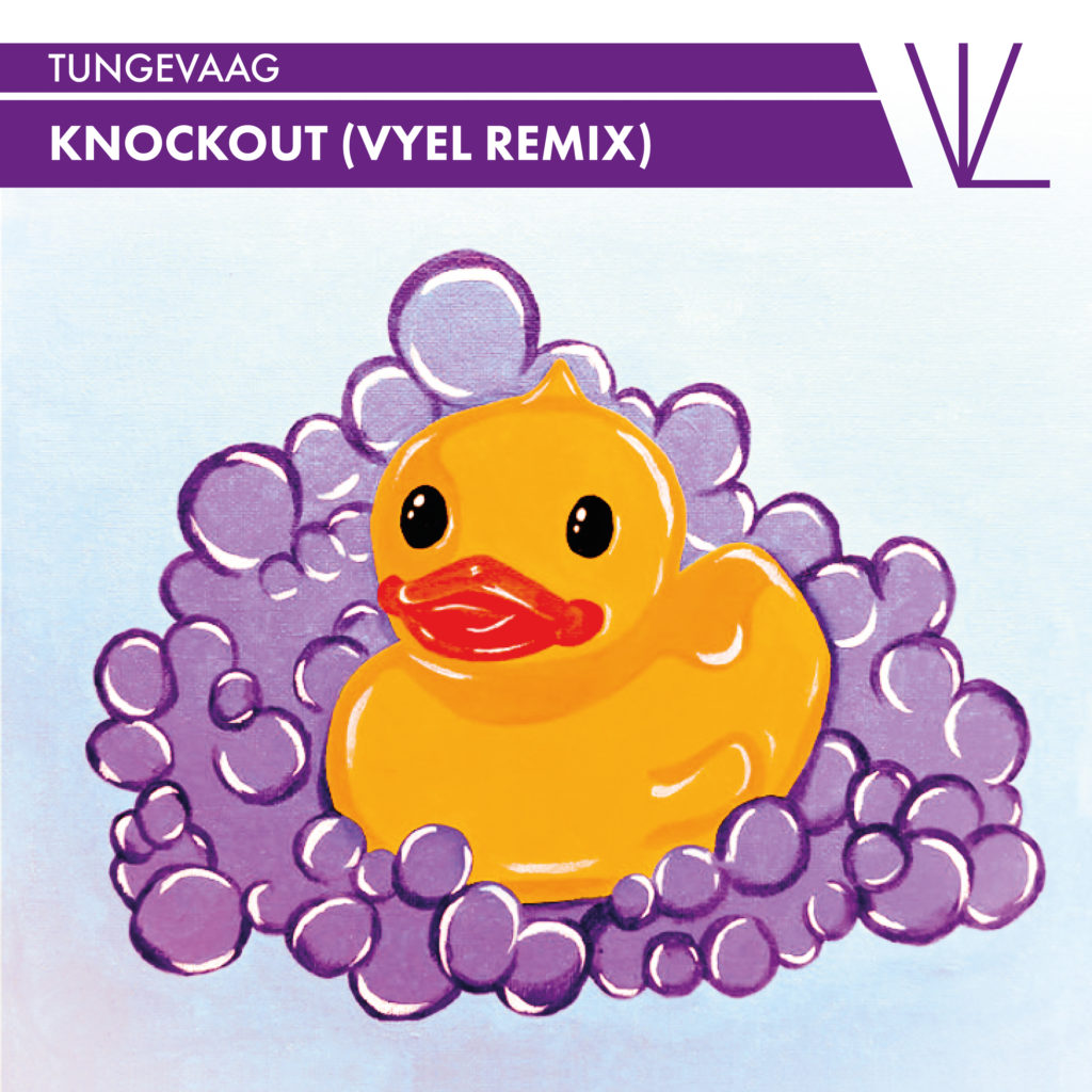 Tungevaag Knockout Vyel Remix Artwork